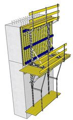 Forpro Climbing Formwork System Main Platform 2.4 Wide For Safe Operation